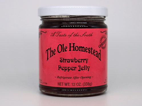 Strawberry Pepper Jelly