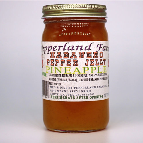 Habanero Pepper Jelly Pineapple