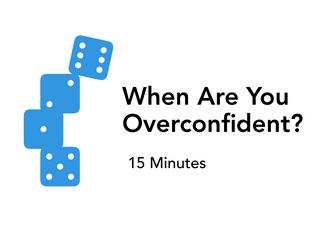 A Cognitive Confidence Assessment