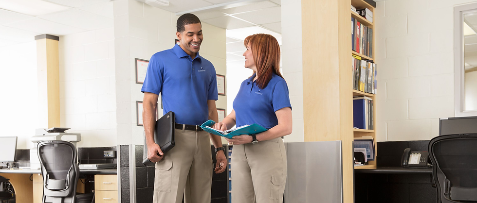 employees branded polos