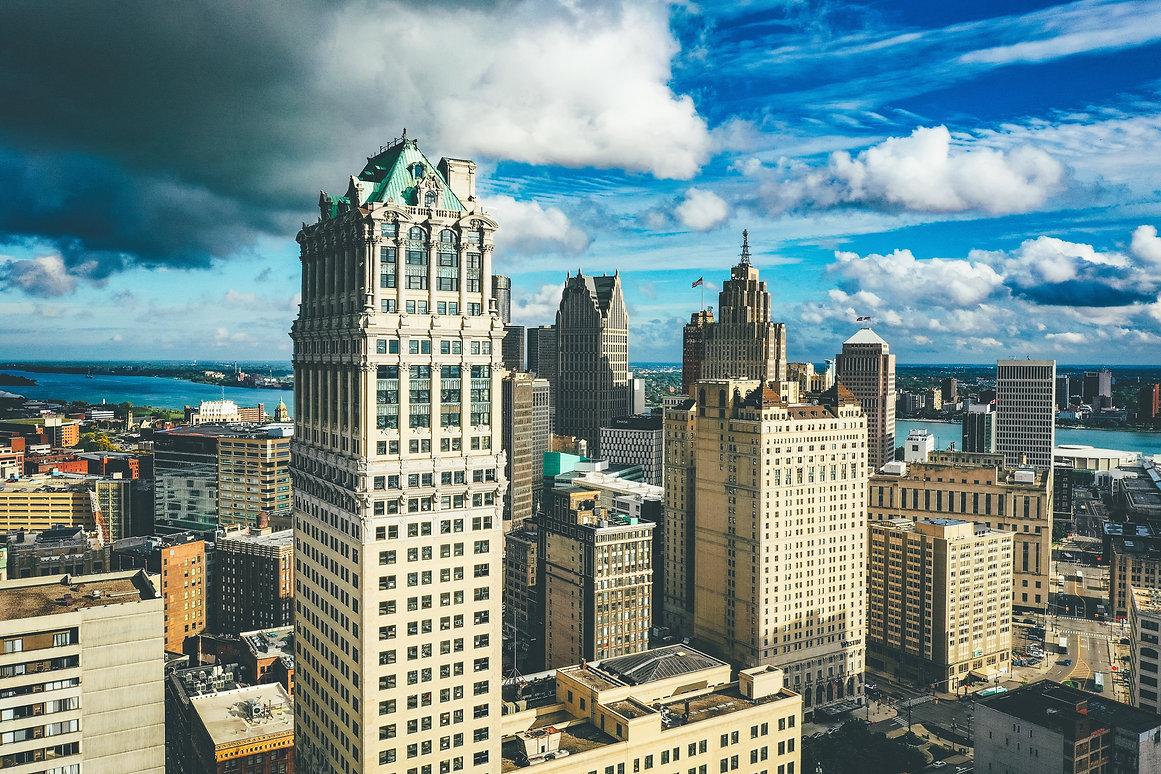 City of Detroit Skyline