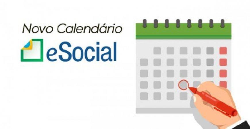23/10 - eSocial simplificado: Confira o novo calendário de implantação.