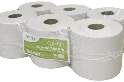 Mini-Jumbo Toilet Rolls