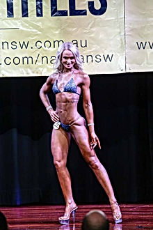 World Fitness Federation Competition, Figure competition, sports model competition
