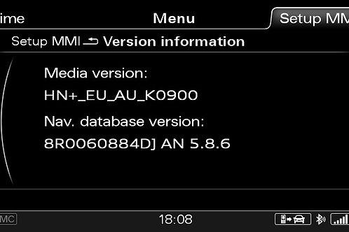 AUDI A6 A7 A8 Q3 MMI 3G+ PLUS AUSTRALIA 2016 MAPS FULL PACKAGE