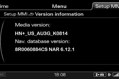 AUDI A4 A5 Q5 Q7 MMI 3G+ CANADA 2016 MAPS FULL PACKAGE