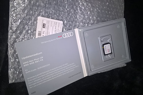 AUDI A1 MMI 3G+ PLUS HDD GENUINE HN+_US_AU210_K942