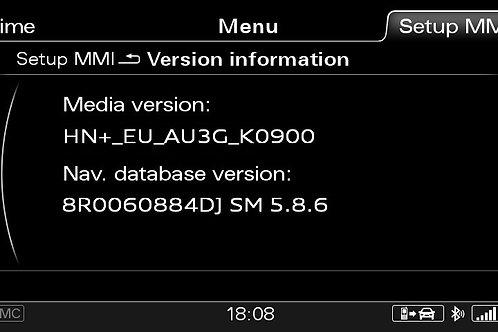 AUDI A4 A5 Q5 Q7 MMI 3G+ SINGAPORE 2016 MAPS FULL PACKAGE