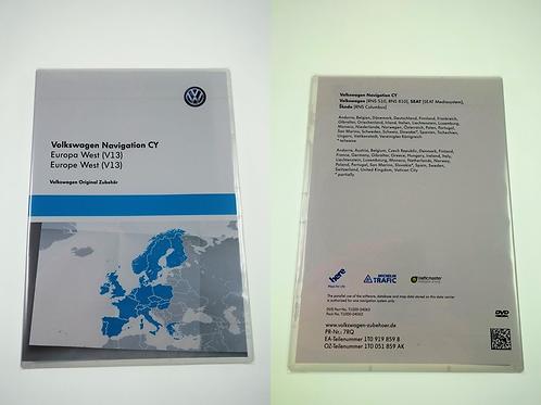 VW RNS 510 / 810 SAT NAV UPDATE MAPS 2016 V13 DVD