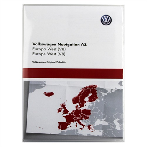 VW RNS 315 2016 Maps v8 AZ West Europe Maps
