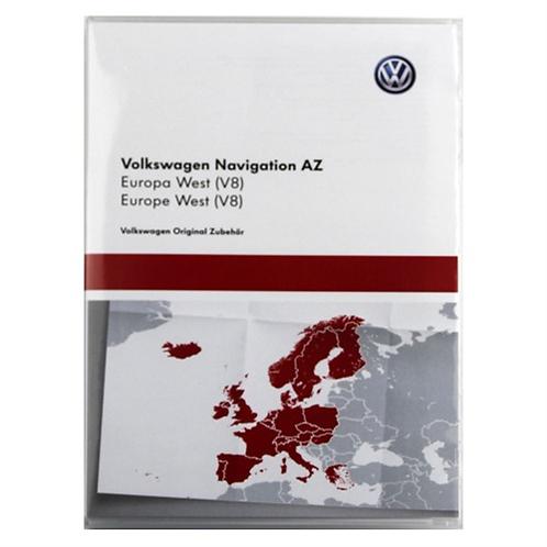 VW RNS 315 2016 Maps v8 AZ West Europe Maps