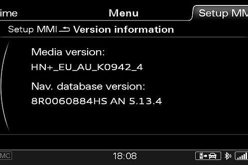 AUDI A6 A7 A8 Q3 MMI 3G+ PLUS AUSTRALIA 2021 MAPS FULL PACKAGE
