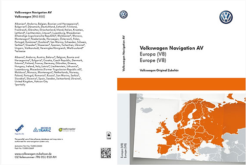 VW RNS 850 2016 Maps v8 SD Card 6 21 2 Full Pack | audiupdates