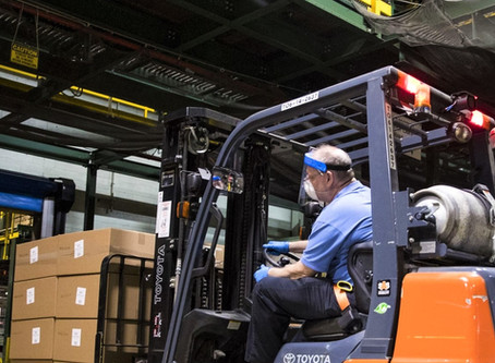 Heavy Equipment, Heavy Responsibility: Preventing the Spread of Covid-19 for Forklift Operators