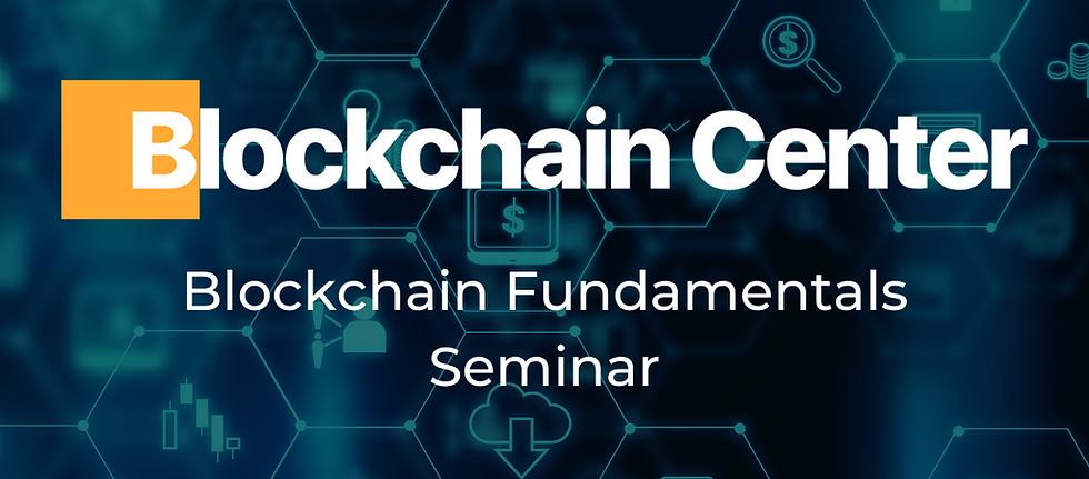 Blockchain Fundamentals Livestream Seminar