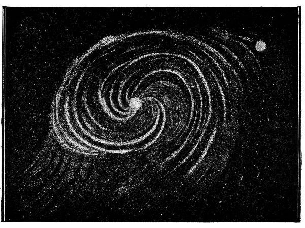 Nebulosa espiral Camille - Van Gogh - Arte Cósmica - Cosmopolita