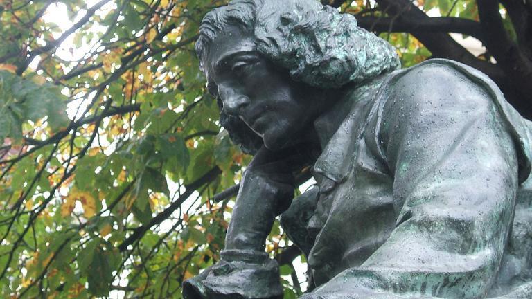 Estátua de Espinosa em Haia, Países Baixos