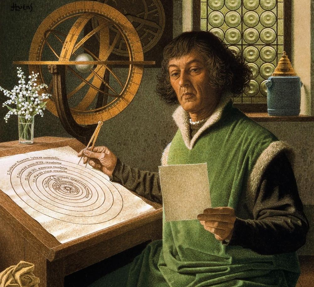 copernico heliocentrismo astronomia cosmopolita