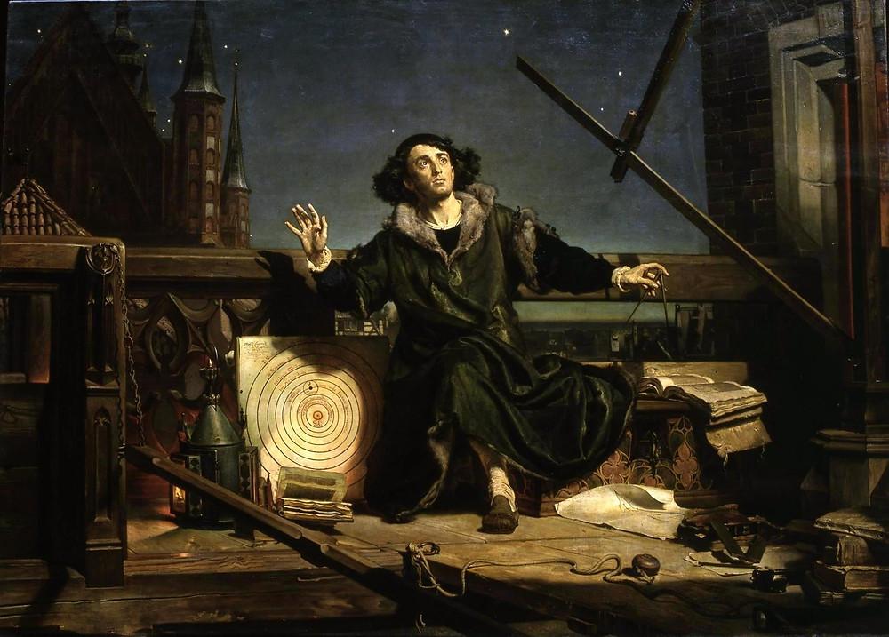 Nicolau Copernico - Heliocentrismo - Cosmopolita astronomia