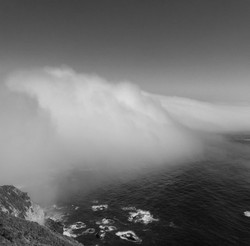 Big Sur Fog from Above