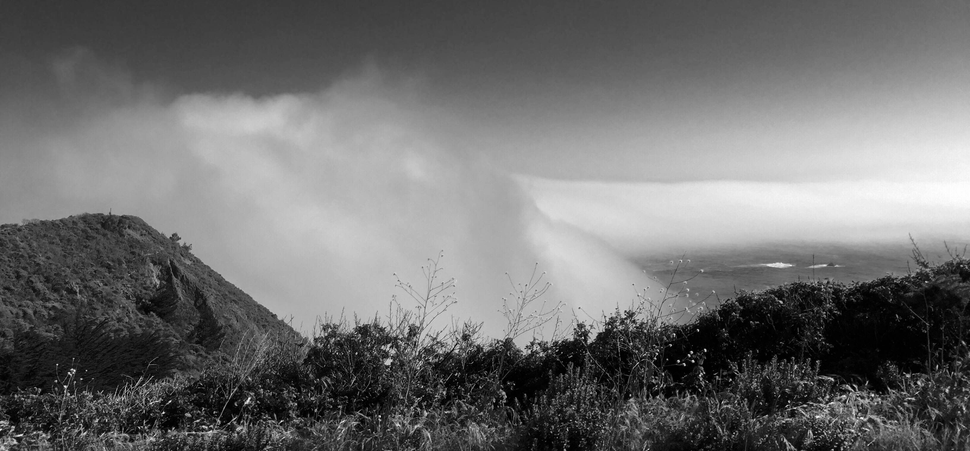 Big Sur Raising Fog
