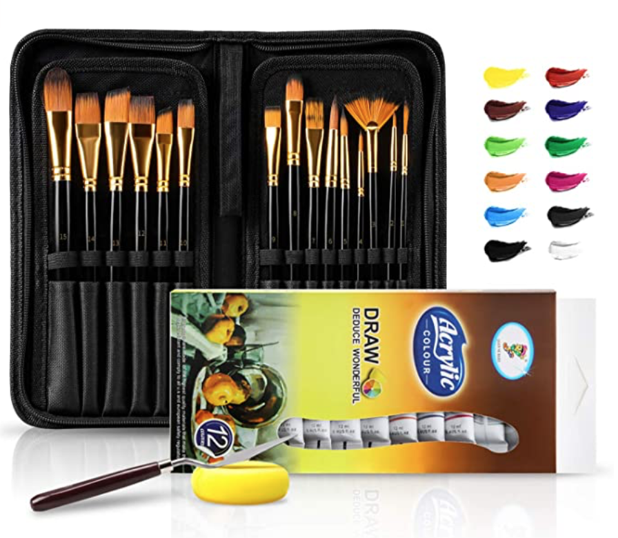 Brush Set Case & Acrylic Set