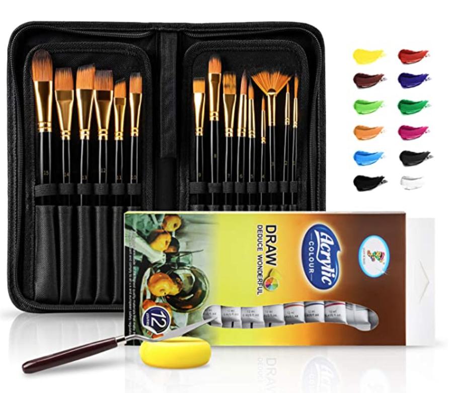 Brush Set Case & Acrylic Set