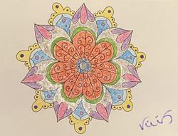 Mandala Coloring, Valle de Bravo, Mexico