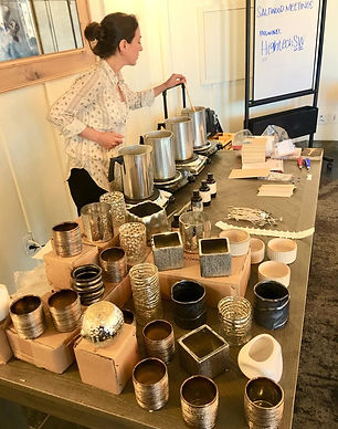 Candle Workshop setup.jpg
