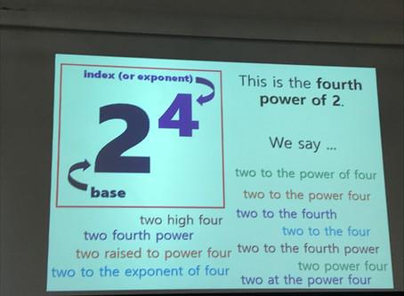 #MathsConf15 Part 1