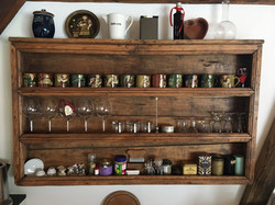 Altes Küchenregal