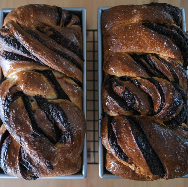 Sourdough Chocolate Babka