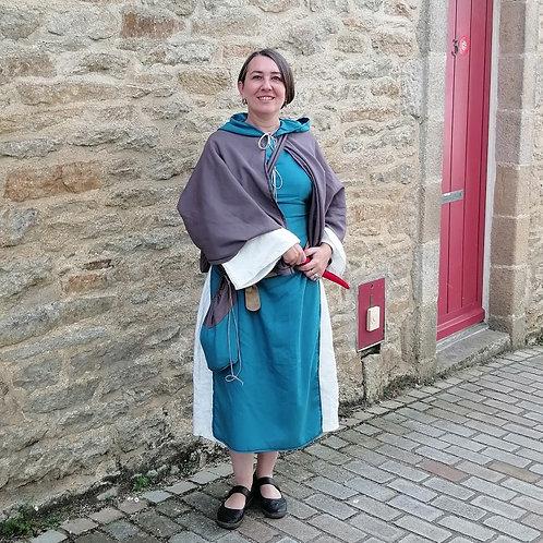 Tenue Médiévale Féminine en coton
