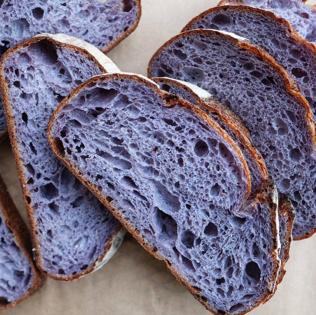 Blue Corn Polenta Sourdough