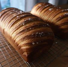 Sourdough Japanese Milk Bread Loaf