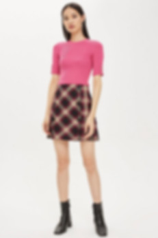 A tartan skirt.jpg