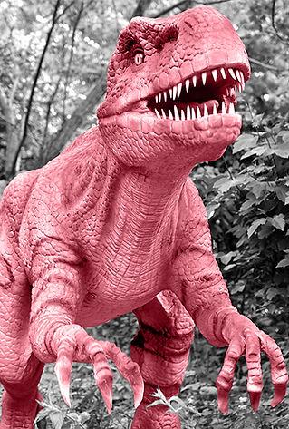 toy dinosaur jurassic world black and white pink