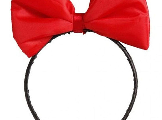 Red Hair Bow (£2.80)
