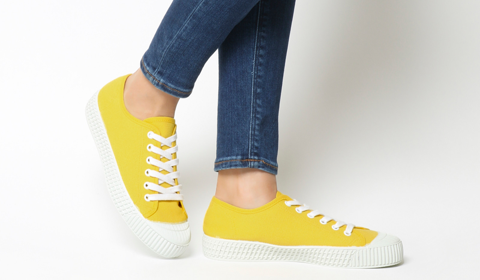 Office Yellow Trainers (£15)
