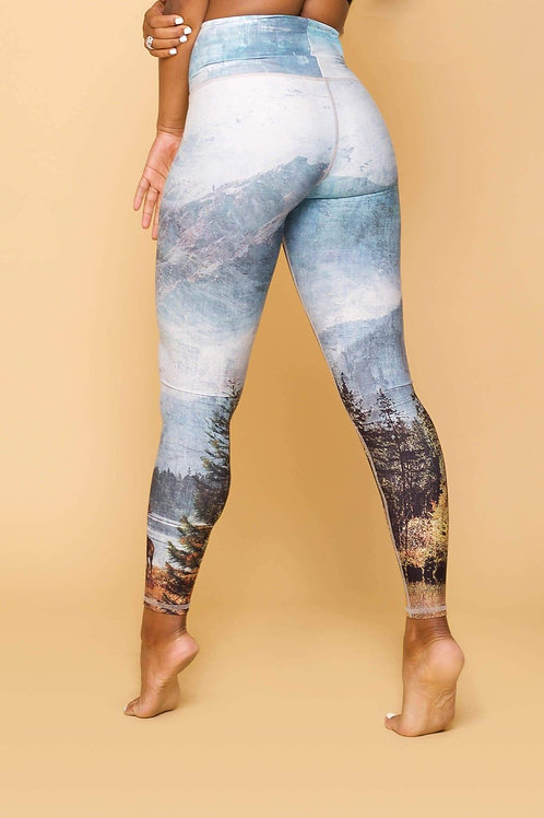 Niyama Sol Happy Little Trees High Waisted Legging
