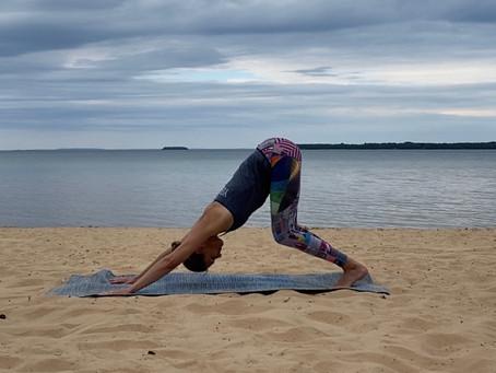 Välkommen till yogasalen