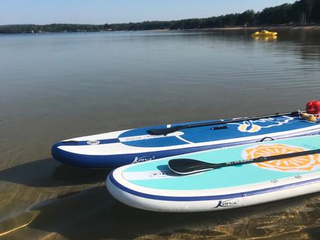 Yoga på vattnet