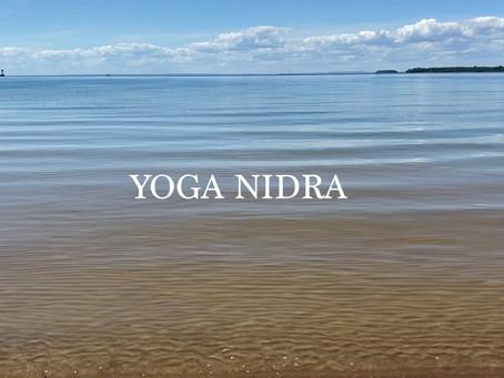 Yoga Nidra - En stund av medveten mental vila