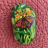 Monarch Butterfly Rock