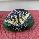 Tiger Swallowtail Butterfly Rock