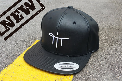 Full Leather Letters Snapback