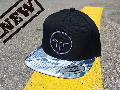 Oil Paint Visor Snapback