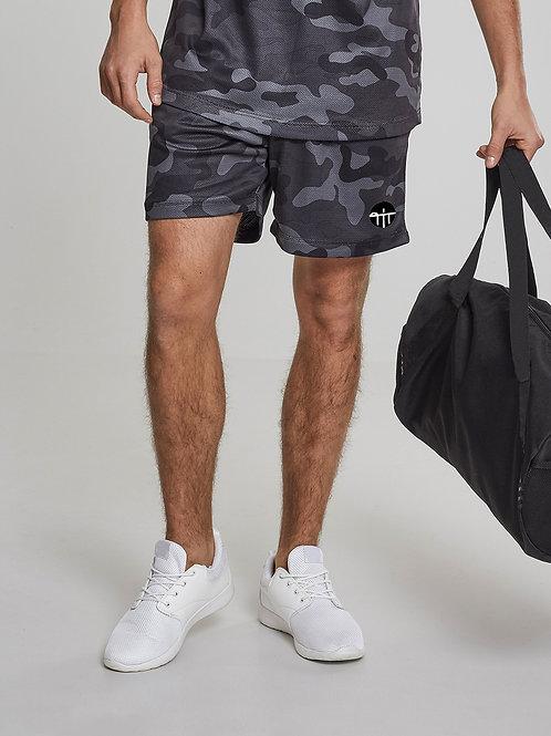 Shorts Camo Mesh
