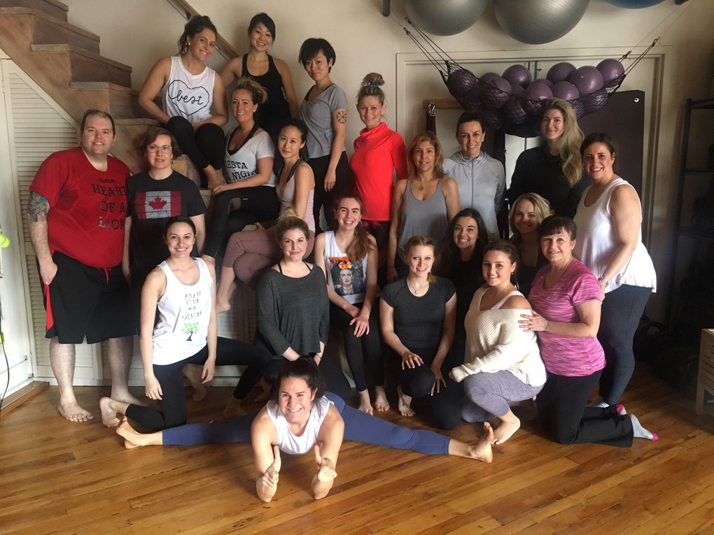 Breathe & Flow yoga fundraiser in Toronto