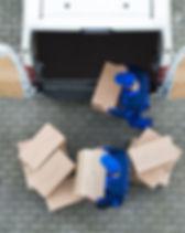 Voiture de livraison